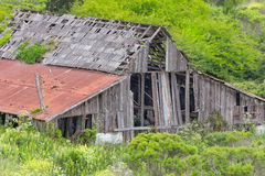 Dilapidated Rural Barn Stock Photo