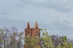 Dilapidated St. Nicolai Church Royalty Free Stock Images