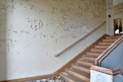 A dilapidated staircase Royalty Free Stock Image
