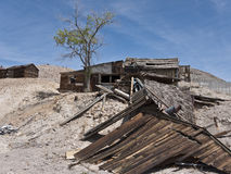 Dilapidated structures in Tonopah, Nevada Royalty Free Stock Image