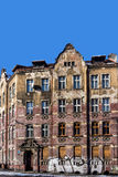 Dilapidated tenement Royalty Free Stock Photos