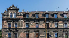 Dilapidated tenement Royalty Free Stock Images