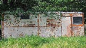 Dilapidated Trailer Home Royalty Free Stock Photo