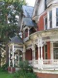 Dilapidated Victoriaans huis Stock Afbeelding