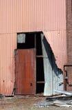 Dilapidated warehouse Stock Image
