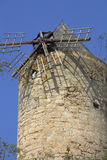 Dilapidated windmill  Stock Photo