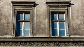 Dilapidated windows Royalty Free Stock Images