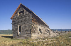 Dilapidated wooden farmhouse, Royalty Free Stock Photo