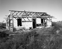 Dilapidated Wooden House Royalty Free Stock Photo