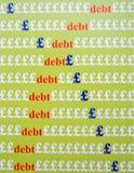 Dilema financiero del gobierno. Foto de archivo libre de regalías