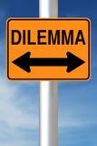Dilemma Fotografering för Bildbyråer