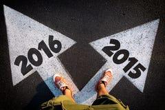 Dilemma des neuen Jahres Lizenzfreies Stockbild