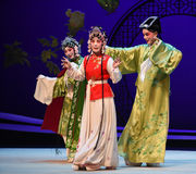 "In a dilemma-Kunqu Opera ""the West Chamber"" Stock Photography"