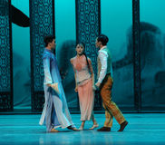 In a dilemma-The second act of dance drama-Shawan events of the past. Guangdong Shawan Town is the hometown of ballet music, the past focuses on the historical Stock Photo