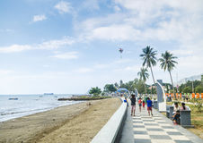 Dili seaside in east timor Stock Images