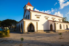 Dili, Timor oriental église de Motael du 30 juillet Photos stock