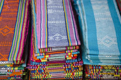 dili wschodni tkaniny leste tais Timor Zdjęcie Royalty Free