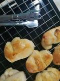 Dilicious baked homemade buns Royalty Free Stock Photos