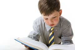 Diligent pupil Royalty Free Stock Images