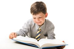 Diligent pupil Stock Photography