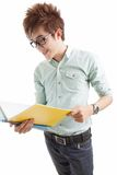 Diligent student Stock Images