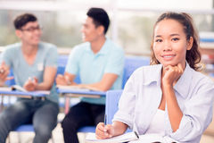 Diligent student Stock Photography