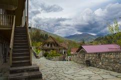Dilijan velho Tufenkian complexo em Dilijan, Armênia imagem de stock royalty free