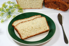 Dill Bread Stock Photography