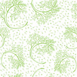 Dill hand drawn pattern Stock Photography