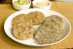 Dill idlis is a healthier version of idli's. Which is staple food in South Indian for breakfast Stock Photo