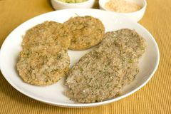Dill idlis is a healthier version of idli's. Which is staple food in South Indian for breakfast Stock Images