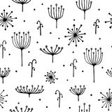 Dill pattern. Royalty Free Stock Images