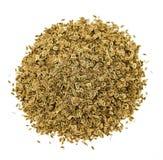 Dill-Samen auf weißem Hintergrund Lizenzfreie Stockfotografie