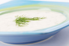 Dill soup Stock Image