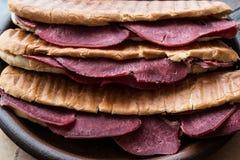 Dilli Kasarli / Beef Tongue Sandwich Stock Image