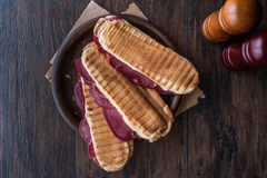 Dilli Kasarli / Beef Tongue Sandwich Stock Photos