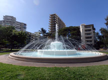 Dillingham Fountain at Kapiolani Park Royalty Free Stock Photography