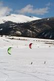 dillon ανοικτό snowkite Στοκ φωτογραφίες με δικαίωμα ελεύθερης χρήσης