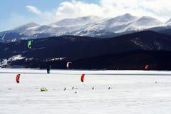 dillon ανοικτό snowkite Στοκ Εικόνες