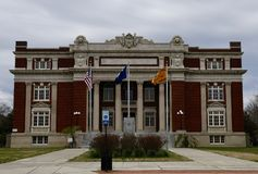 Dillon County Courthouse #1 royalty-vrije stock foto's