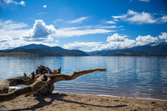 Dillon Lake. Lake and mountains in Dillon. Just outside of Denver, Colorado royalty free stock photography