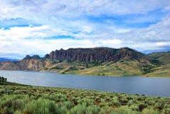 Dillon Pinnacles Colorado royaltyfria bilder
