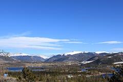 Dillon Reservoir. Summit county Colorado Royalty Free Stock Photo