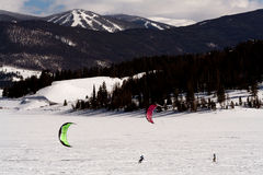 Dillon Snowkite Open Stock Images