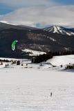 Dillon Snowkite Open Stock Images