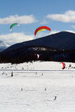 Dillon Snowkite Open Royalty Free Stock Photo