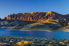 Dillons Pinnacles outside of Gunnison, CO Stock Image