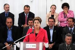 Dilma Rousseff stockbilder
