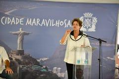 Dilma Rousseff Zdjęcia Stock