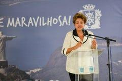 Dilma Rousseff Stock Photo